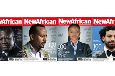 New African Magazine names Africa's Most Influential People..