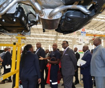 Peugeot Assembly Plant Gets Going in Namibia