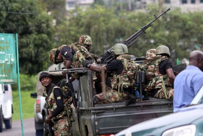 Les régions anglophones du Cameroun en conflit