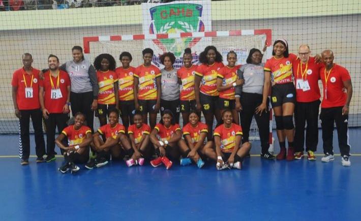 Afrique handball le s n gal battu par l 39 angola en finale de la can f minine - Coupe d afrique handball ...