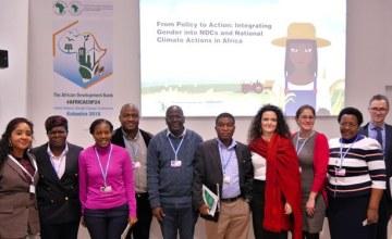 Nouvelle étape dans la lutte contre le changement climatique en Afrique