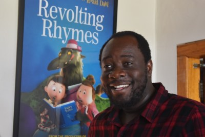 Nigerian-born animator Aibe Elukp.
