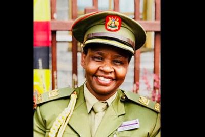 Anti-corruption chief Lt. Col. Edith Nakalema (file photo)