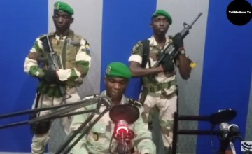 Gabon Troops Seized Radio Station in Attemped Coup - VIDEO