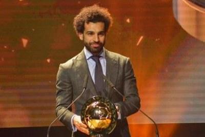 Mohamed Salah joueur africain de l'année 2018.