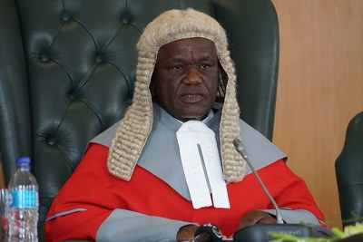 Chief Justice Luke Malaba.