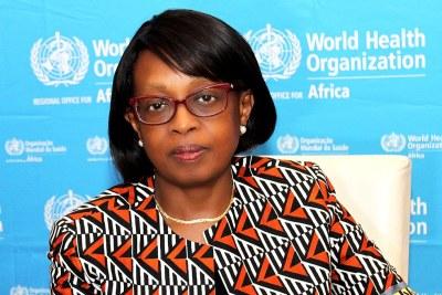 Dr Matshidiso Rebecca Natalie Moeti, Directrice régionale du Bureau régional de l'OMS pour l'Afrique
