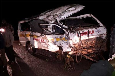 Eleven people died while scores were injured on January 28, 2019 after this matatu rolled at HZ area in Metkei along the Eldoret-Kaptagat-Eldama-Ravine road.