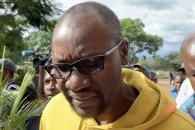 Pastor Evan Mawarire arrives at the court in Harare (file photo).