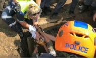 Newborn Baby Rescued From Drain In South Africa
