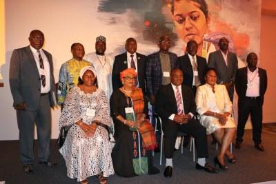 Local elected leaders of Dakar (Sénégal), Kampala (Ouganda), Tagandougou (Mali), Durban et eThekwini (Afrique du Sud), Plateau (Congo Brazzaville), and others in Cape Town.