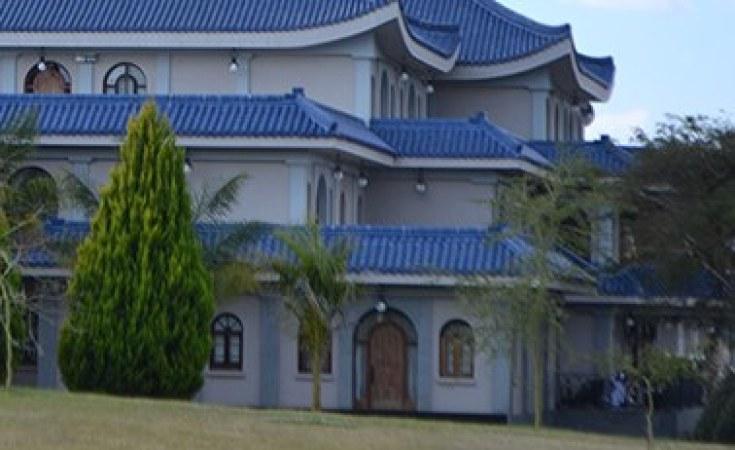 Mansión del techo azul