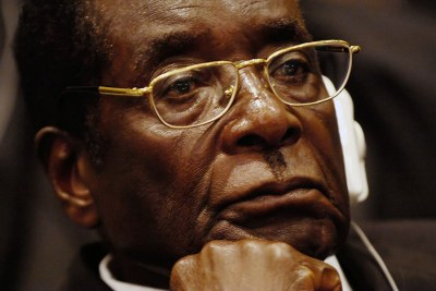 The late Robert Mugabe.