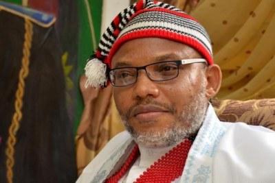 Nnamdi Kanu (file photo).