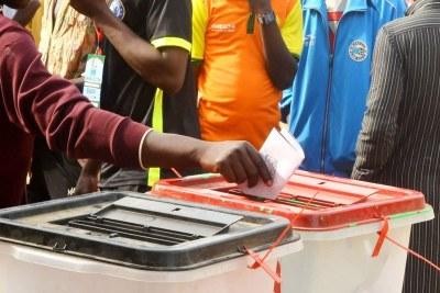 Photo archive d'un électeur