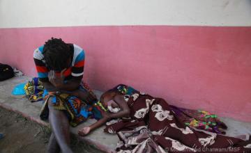 MSF répond à l'épidémie de choléra au Mozambique