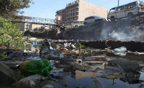 Hotels Blamed For Filth Choking Nairobi River