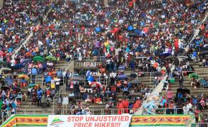 Mnangagwa Makes Big Promises as Zimbabwe Celebrates Independence