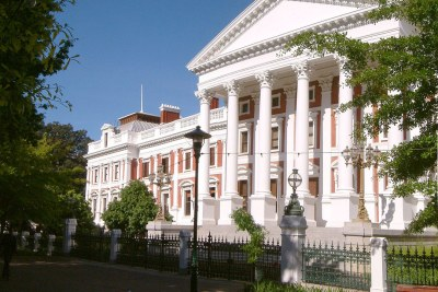 South Africa's houses of parliament in Cape Town.