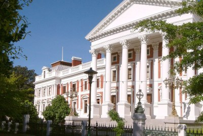 South Africa's houses of parliament in Cape Town (file photo).