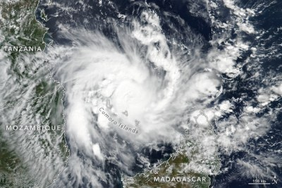 Cyclone Kenneth on April 24, 2019.