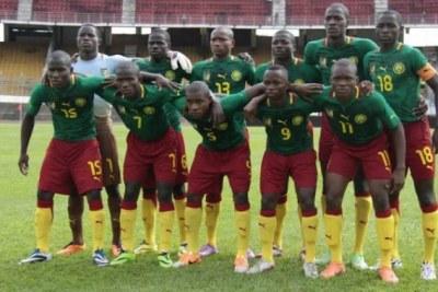Les u17 camerounais