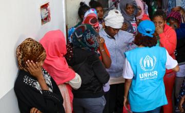 Migrant Women, Children Denied Shelter in Libya's Battleground