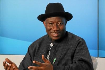 Former president Goodluck Jonathan.