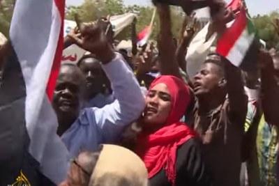 Manifestations à Khartoum Khartoum.