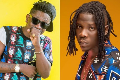 Shatta Wale and Stonebwoy..