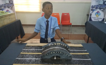 Nigerian 10-year-Old Wins Tech Contest With Plastic Road Design