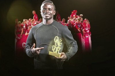 Sadio Mané, l'attaquant sénégalais de Liverpool remporte le Onze d'Or 2019 du meilleur joueur !