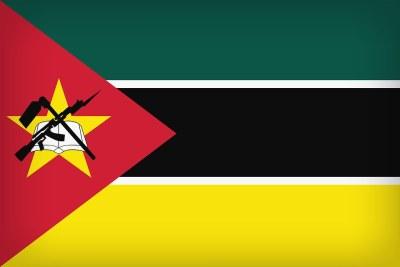 Mozambque flag.