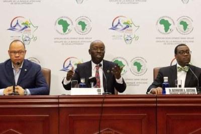 Conférence de presse en prélude des assises 2019 de la BAD à Malabo, Guinée Equatoriale