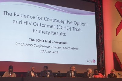 A panel presents the findings of the Echo study - the product of a three-year study conducted among about 7 800 women in eSwatini, South Africa, Kenya and Zambia. Using these contraceptives will not increase women's chances of acquiring HIV, the Evidence for Contraceptive Options and HIV Outcome scientists have revealed.