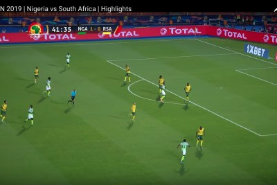 Nigeria vs South Africa in quarter-finals.