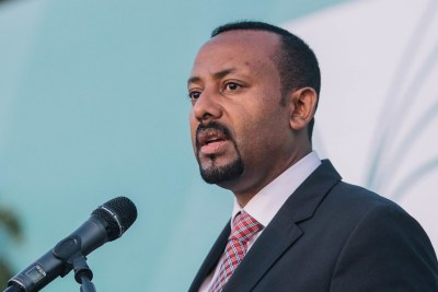Ethiopian Prime Minister Abiy Ahmed in Addis Ababa in 2018.