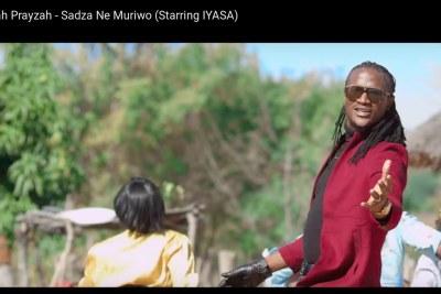Jah Prayzah in his video, Sadza neMuriwo.