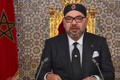 Mohamed VI, roi du Maroc.