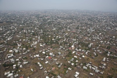 The city of Goma in the DR Congo (file photo).