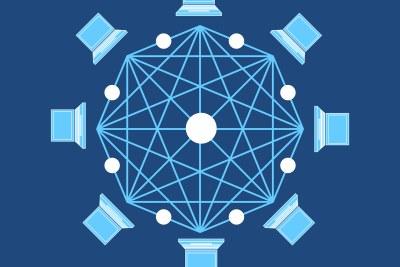 Blockchain mock image.