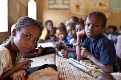 Children in Timbuktu, Mali.