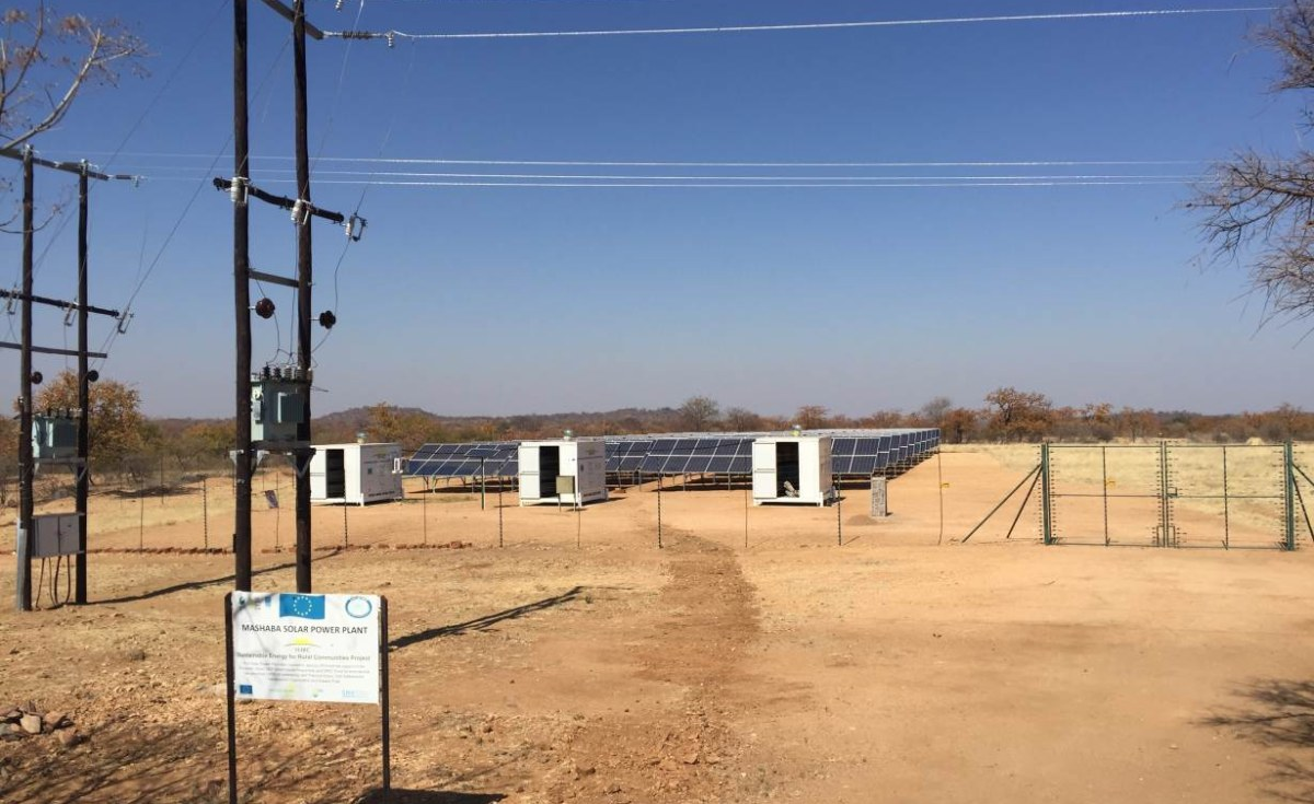 Solar Irrigation Project Means Green Fields - and Elephants!