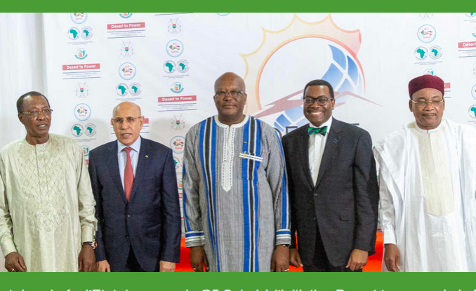 G5 Sahel Officials Support the AfDB's Desert to Power Initiative