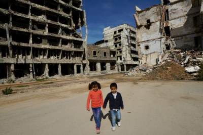 Children in Libya (file photo).
