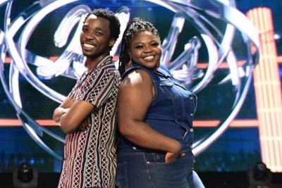 Luyolo Yiba and Sneziey Msomi.