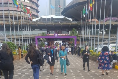 The ICPD25 conference in Nairobi is being attended by about 7 000 participants.