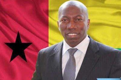 Domingos Simoes Pereira, le candidat du Parti africain pour la Guinée et le Cap-Vert (PAIGC