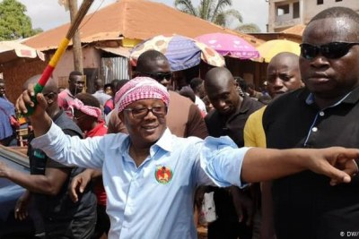 Umaro Sissoco Embalo made sure he was easy for voters to recognise during the campaign.