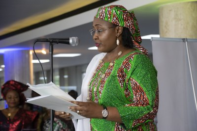 The First Lady of Nigeria, Her Excellency Aisha Buhari.